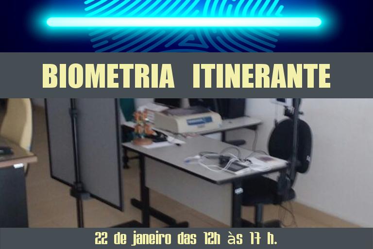 Biometria Itinerante