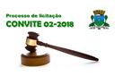 Processo de Licitação - Convite 02/2018